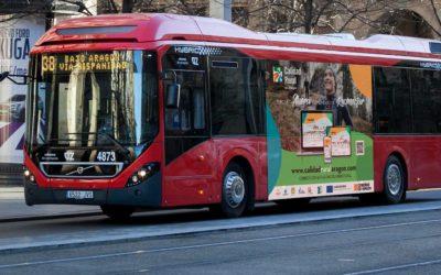 Campaña en buses 'Ahora es momento de reconectar'